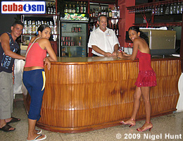 Lobby Bar in Hotel Guantanamo