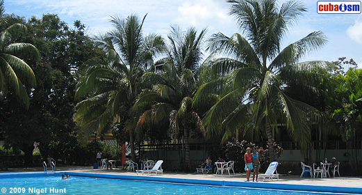 Pool Area in Hotel Guantanamo