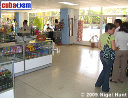 Shop in Hotel Guantanamo